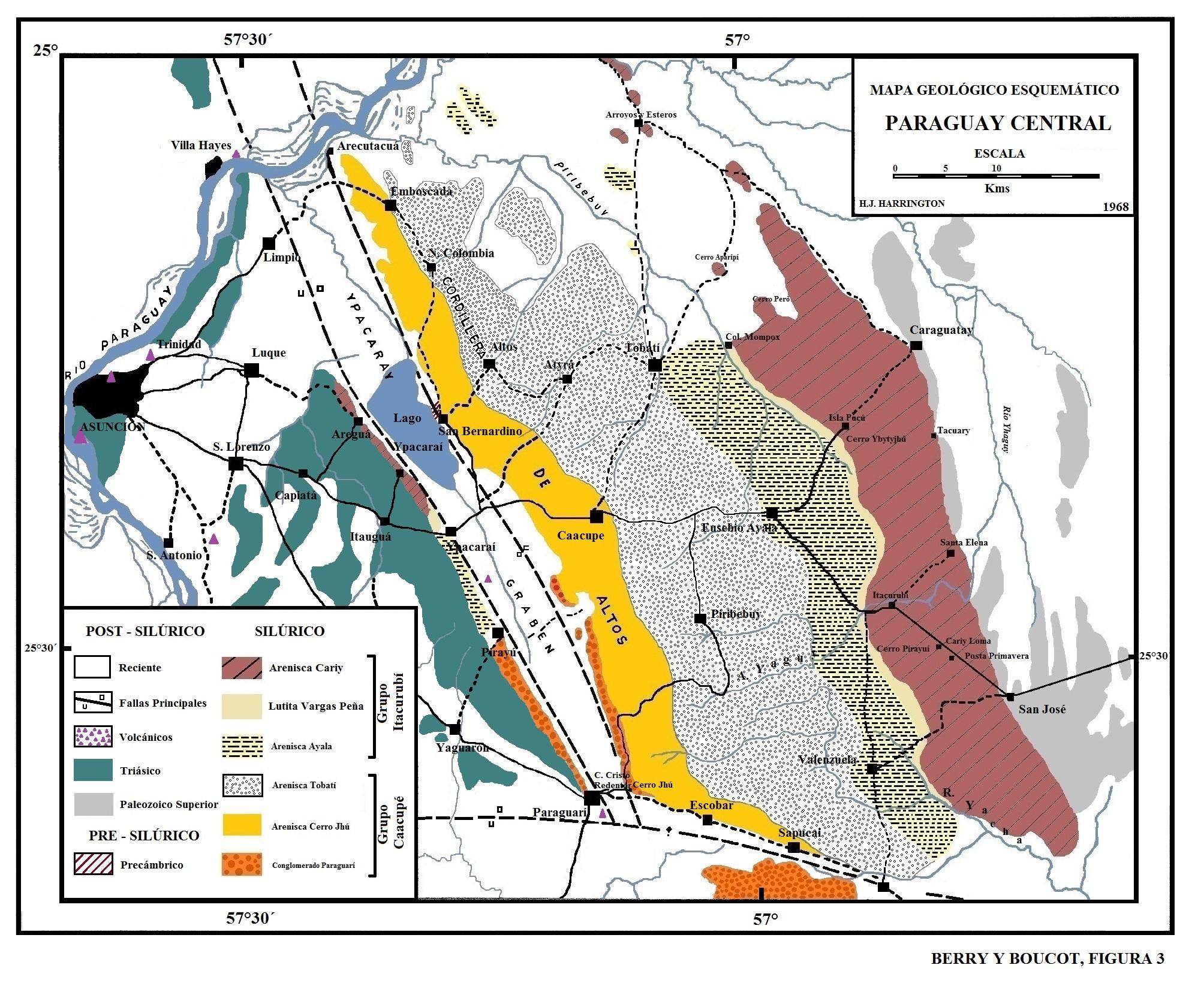 Harrington-1972-Mapa