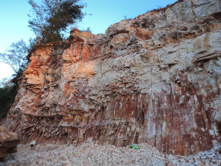 Areniscas-columnares